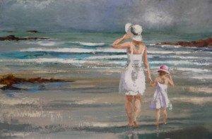 Mère-et-fille-146x97-cm-2012