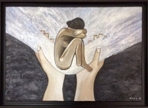 douleur-mais-espoir-peinture-by-veronique-eixea1